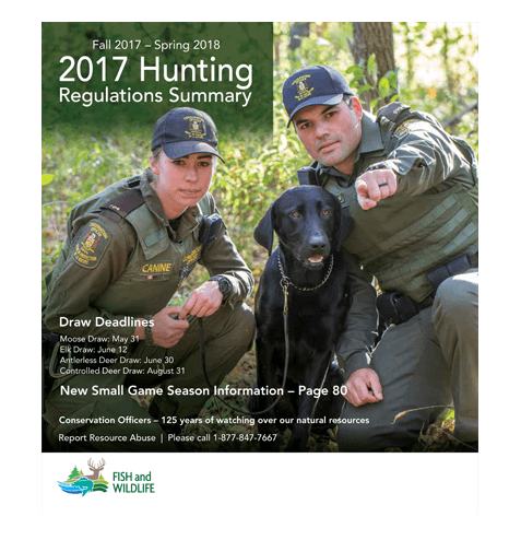 2017 hunting regulations for ontario
