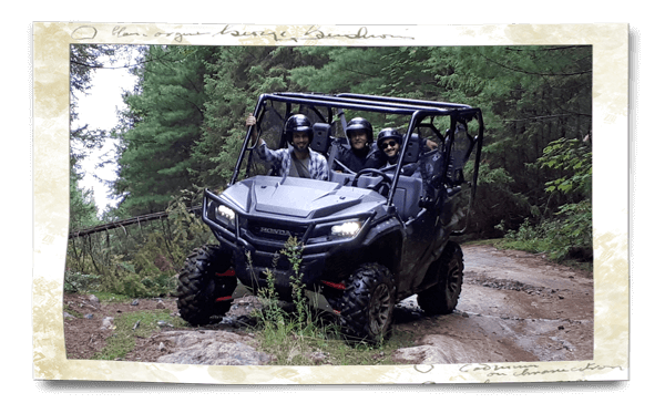 Honda guided rides ATV