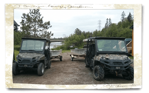 atv and crew cab