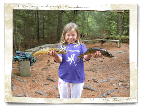 kids fishings in Northern Ontario